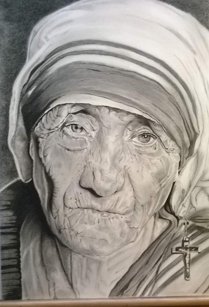 Mother Teresa by CathyBourry